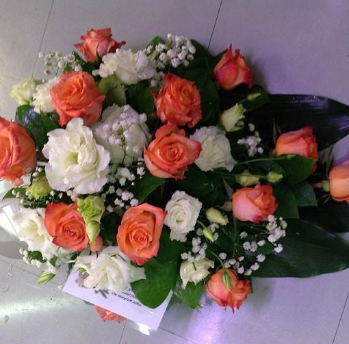 persikka-oranssi-ruusulaite